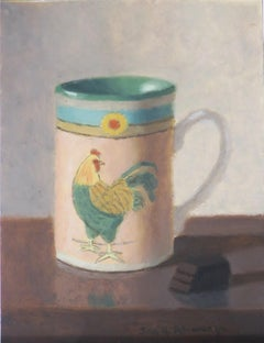 Cup of Chocolate, Oil Painting