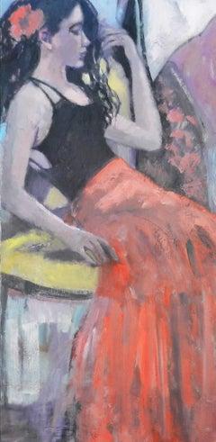 Matador, Oil Painting