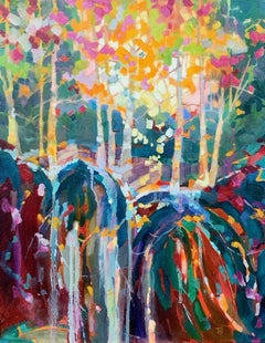 Fern, Oil Painting