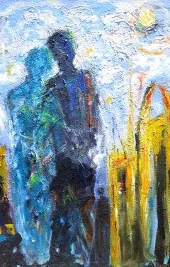 A Pilgrimage to Tangier, Original Painting