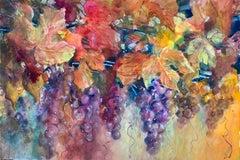 Magic & Grapes, Original Painting