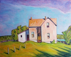 Ottawa Valley Farm, Oil Painting