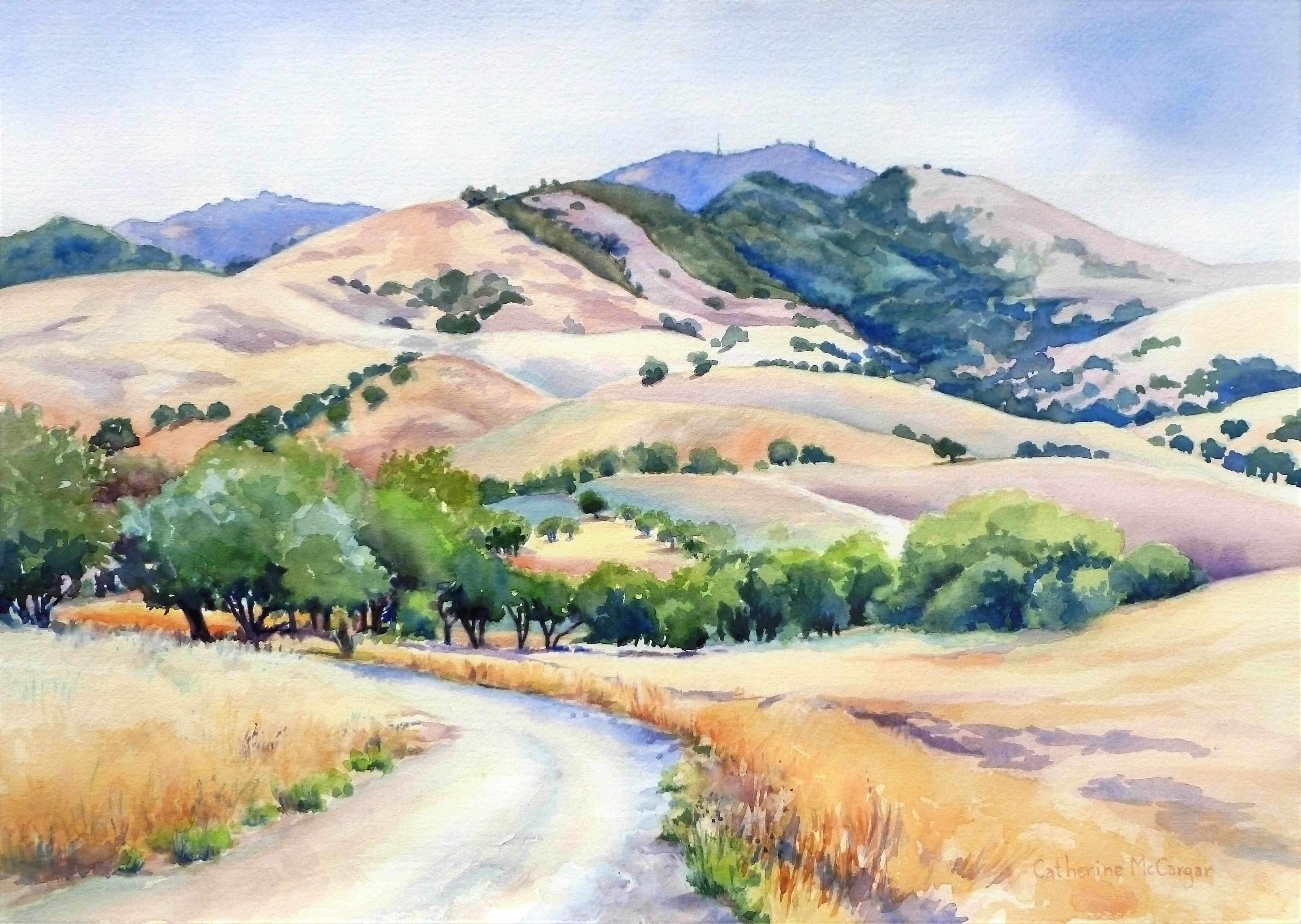 Heading for the Hills, Original Painting