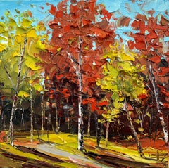 I Do Love Fall, Oil Painting