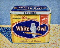 White Owl, Oil Painting