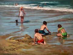 Outgoing Tide, Oil Painting
