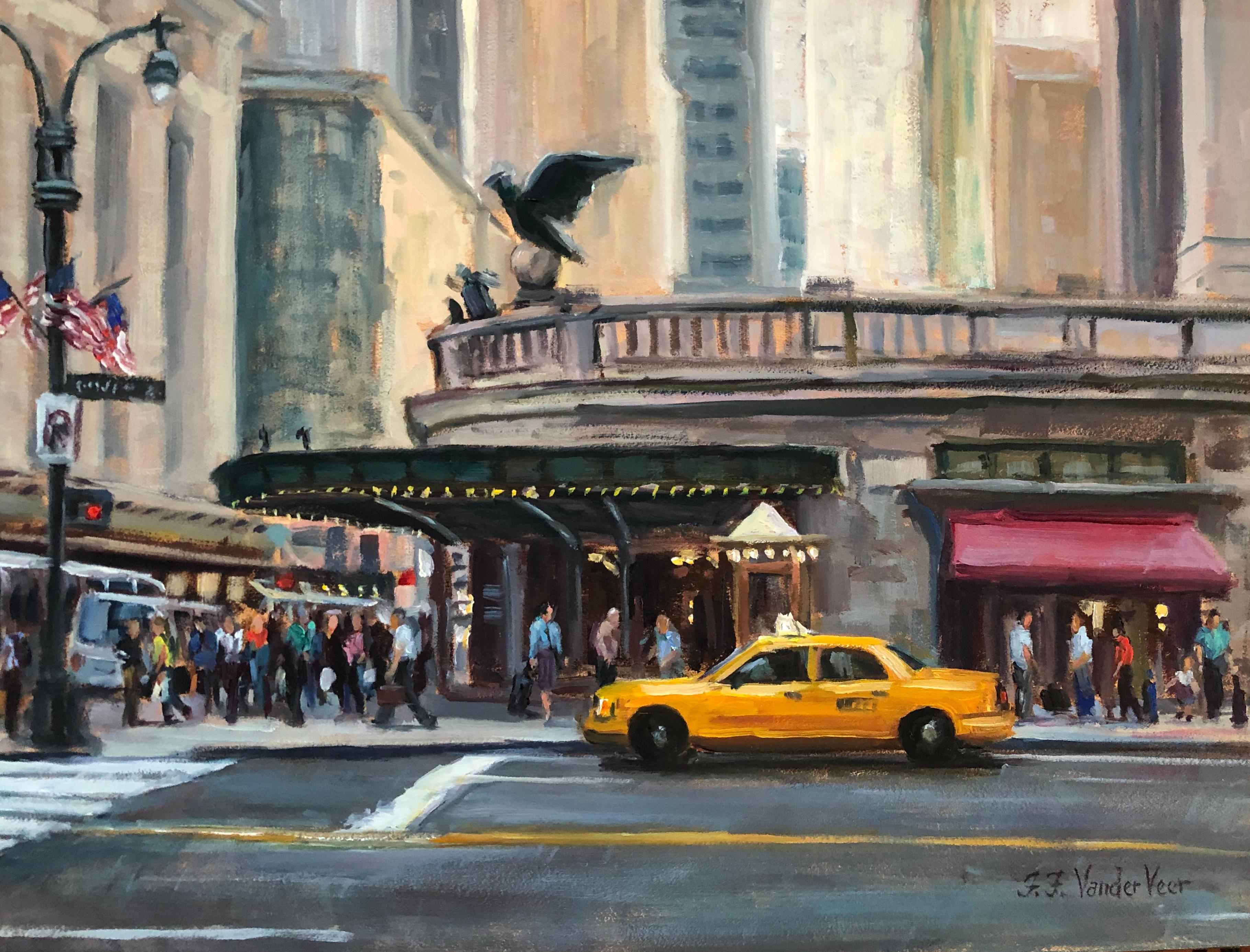 Grand Central, Oil Painting