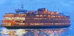 Staten Island Ferry, Original Painting