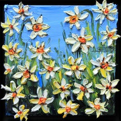 Springtime with Monet, Oil Painting