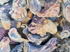Oysters, Oil Painting