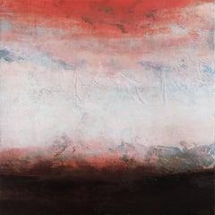 Mandarin Dawn, Abstract Painting