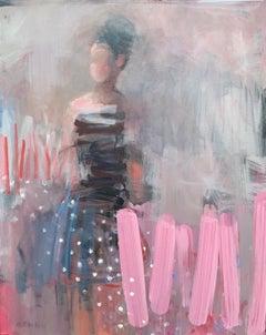 Polka Dot Dreams, Original Painting