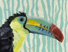 One Can Toucan, Oil Painting