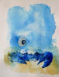 Blue Crab, Original Painting