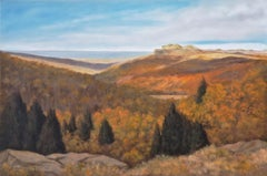 Northern New Mexico Autumn, Oil Painting