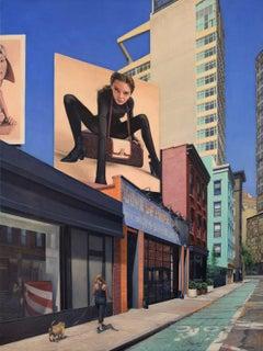 On Grand Street, Oil Painting