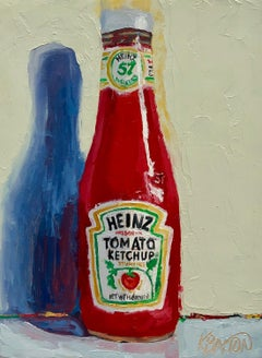 Ketchup Please, Oil Painting