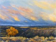 Taos Gorge Landscape, Oil Painting