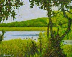Myakka Lake, Oil Painting