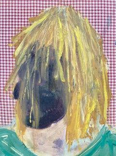 Blonde, Oil Painting