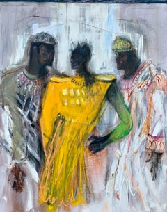 Wise Guys, Oil Painting
