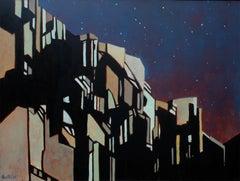 Moonlight #3 (Sonata No. 14), Oil Painting