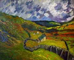 High Country Farm, Original Painting