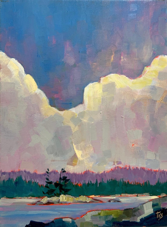 Big Sky, Oil Painting