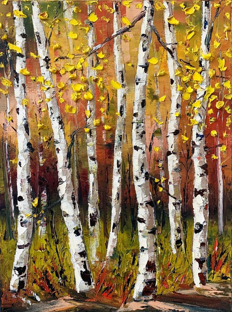 Monet's Fall, Oil Painting - Art by Lisa Elley