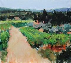 Path by Vines, Original Painting