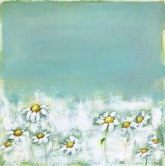 Dancing Daisies, Original Painting