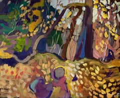 The Falling of the Leaves, Original Painting