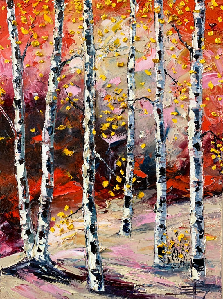 Feels Like Fall, Oil Painting - Art by Lisa Elley