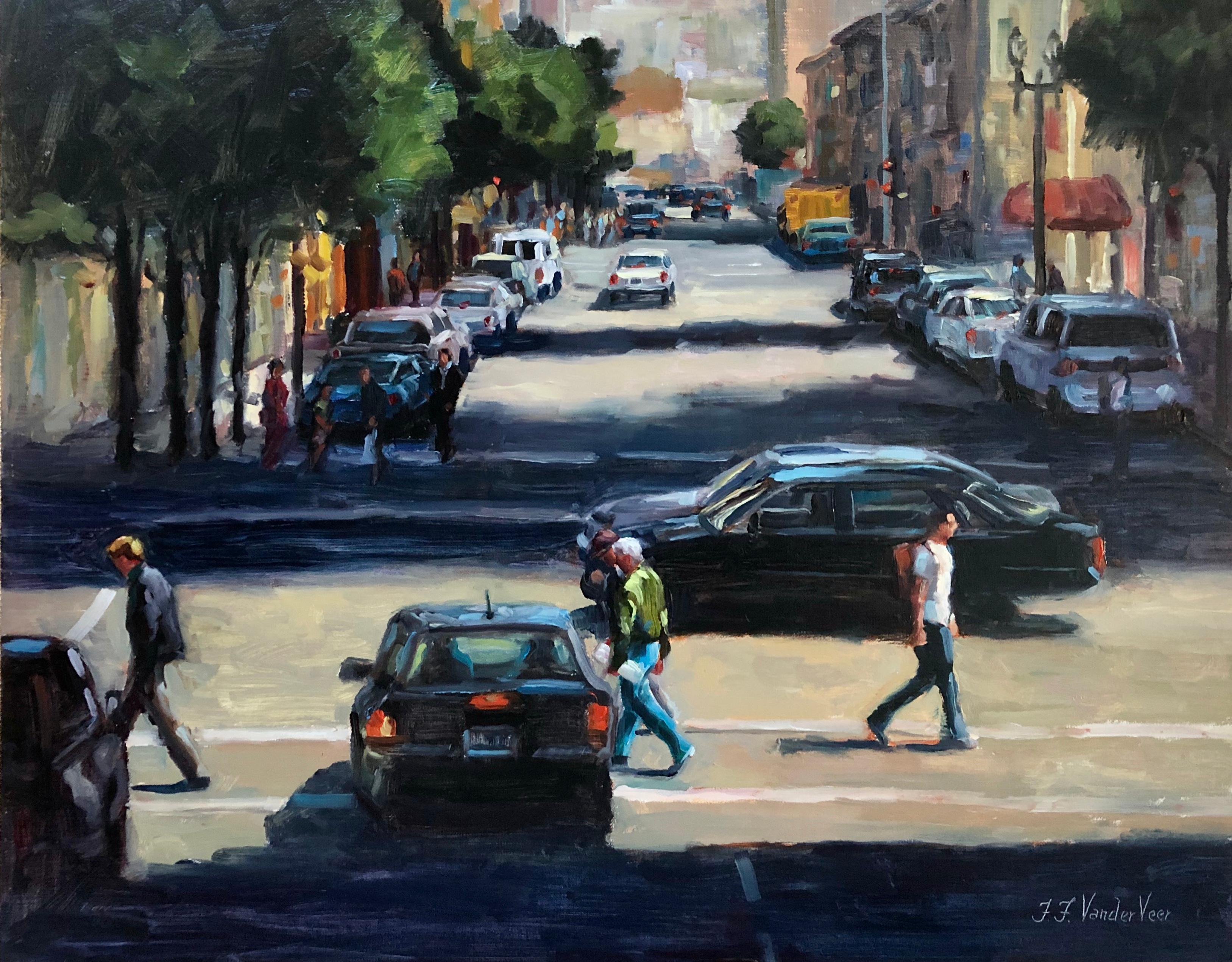 Crosswalk, Oil Painting