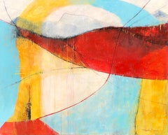 In Suspension, Abstract Painting