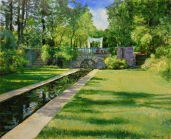 The Lower Grounds at Skylands, Oil Painting