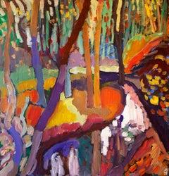 October Woodlands, Original Painting