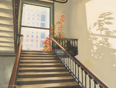 The Stairway, Oil Painting