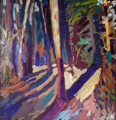 Tall Trunks, Original Painting