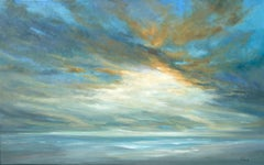 Coastal Light Song, Oil Painting