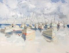 A Nautical Gathering, Original Painting