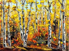 Impressions of Fall, Oil Painting