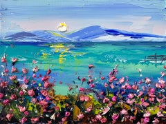 Monterey with Monet, Oil Painting