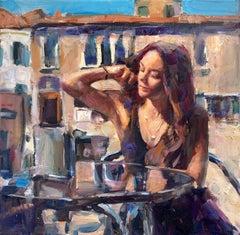 Venice Beauty, Oil Painting