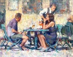 Aperol Spritz, Oil Painting