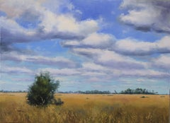 The Silence of the Prairie, Oil Painting