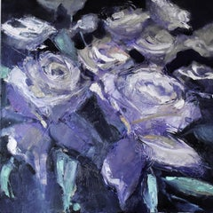 Finding Purple, Oil Painting