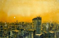 Sunset, Dhaka, Original Painting