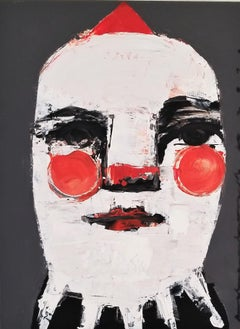 Clown II, Original Painting