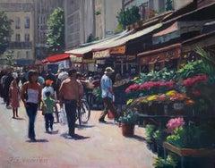 Saturday in Paris, Oil Painting